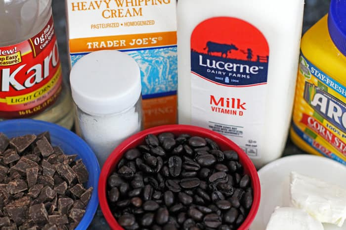 ingredients for homemade Java chip ice cream | Mother Would Know
