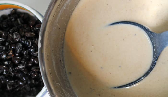 coffee ice cream based after steeping | Mother Would Know