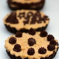 Chocolate Peanut Butter Tartlets