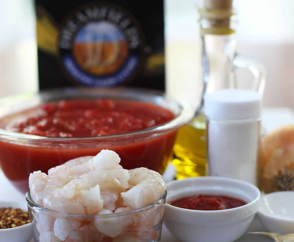 Ingredients for easy pasta arrabbiata | Mother Would Know