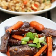 Szechuan Spicy Eggplant and Carrots