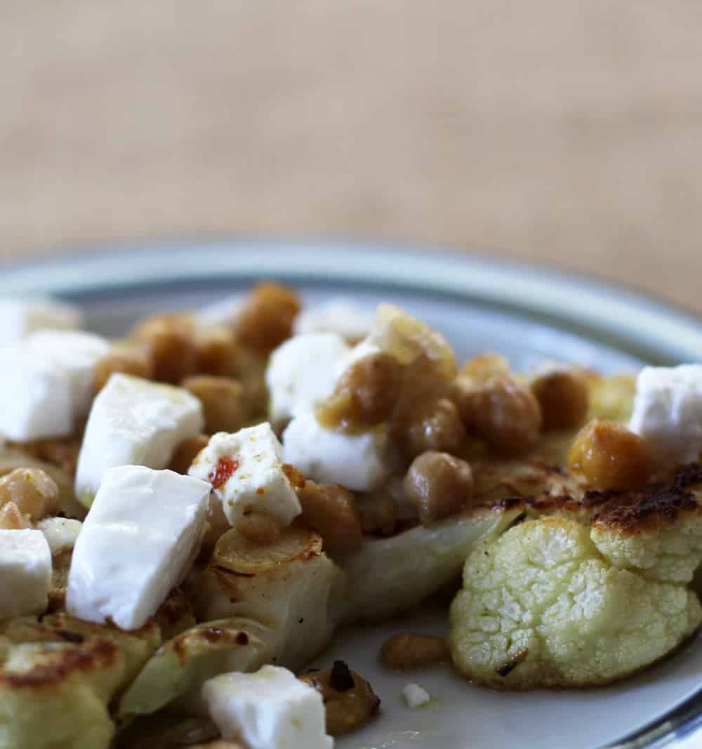 Curried Cauliflower Steaks are tasty and simple | Mother Would Know
