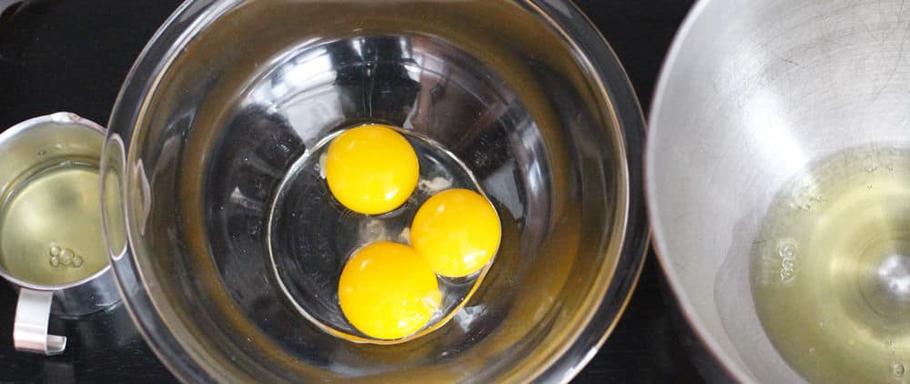 How to separate eggs. From MotherWouldKnow