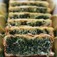 Elegant Feta Spinach Mold