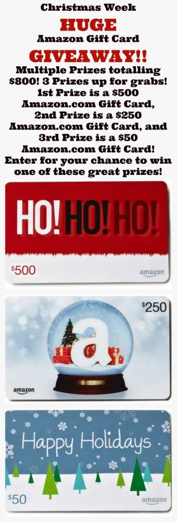 Christmas Week giveaway