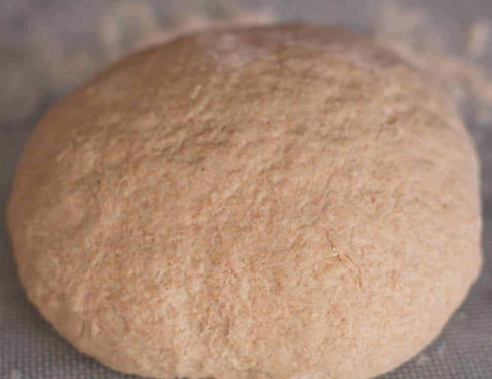 Bread ball for aloo paratha