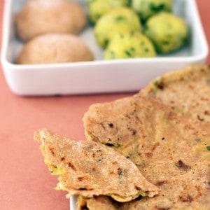 Aloo Paratha, Potato-Stuffed Flatbread