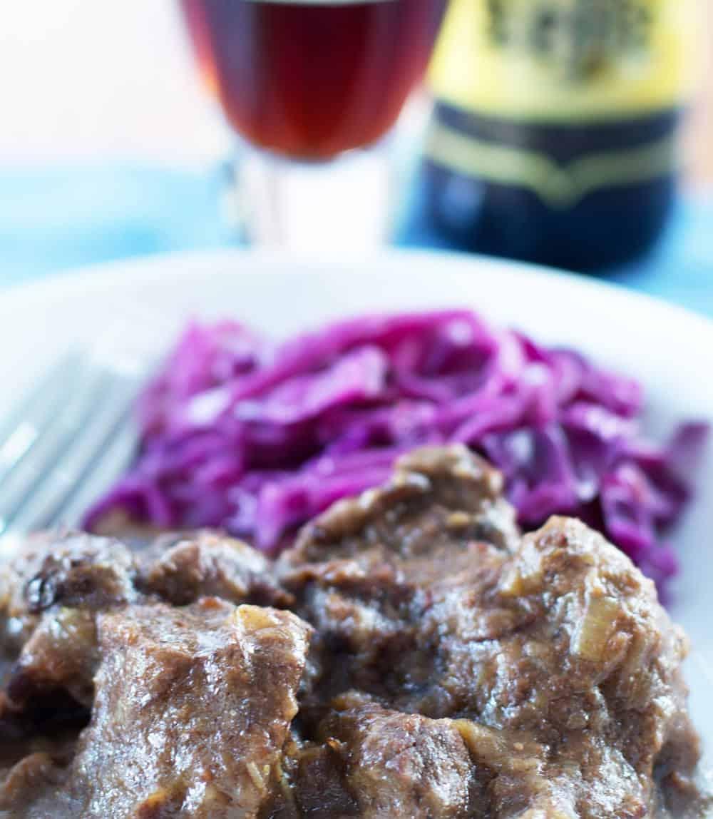 Carbonnade, Belgian beef and beer stew