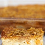Sweet Lokshen Kugel or Noodle Pudding