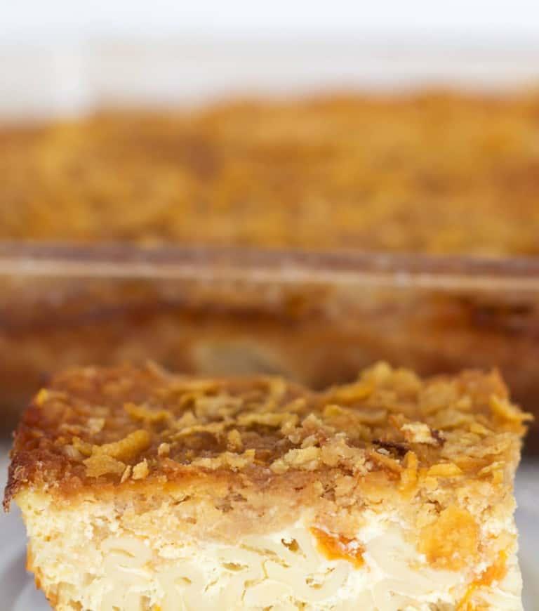 Sweet Lokshen Kugel or Noodle Pudding | Mother Would Know