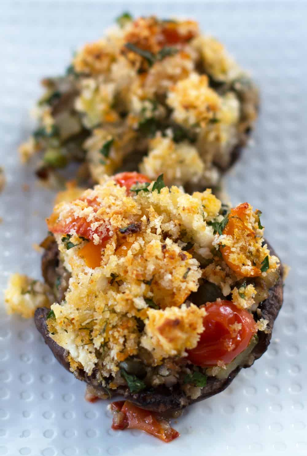 "calls ""mitzvah"" cooking. Although these Feta Dill Stuffed Mushroom ..."