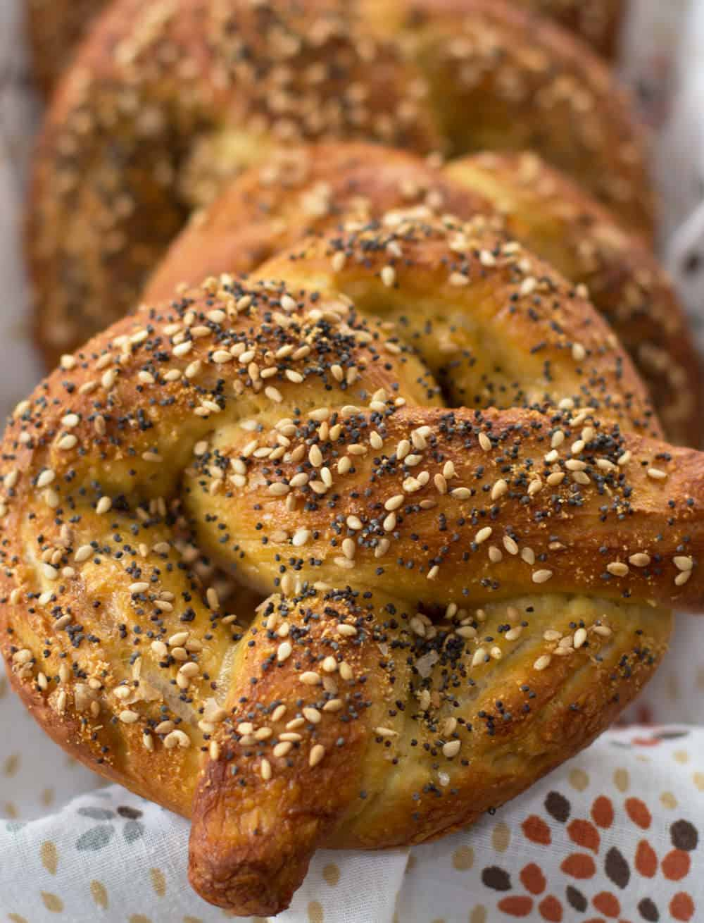 New York-style soft pretzels | Mother Would Know