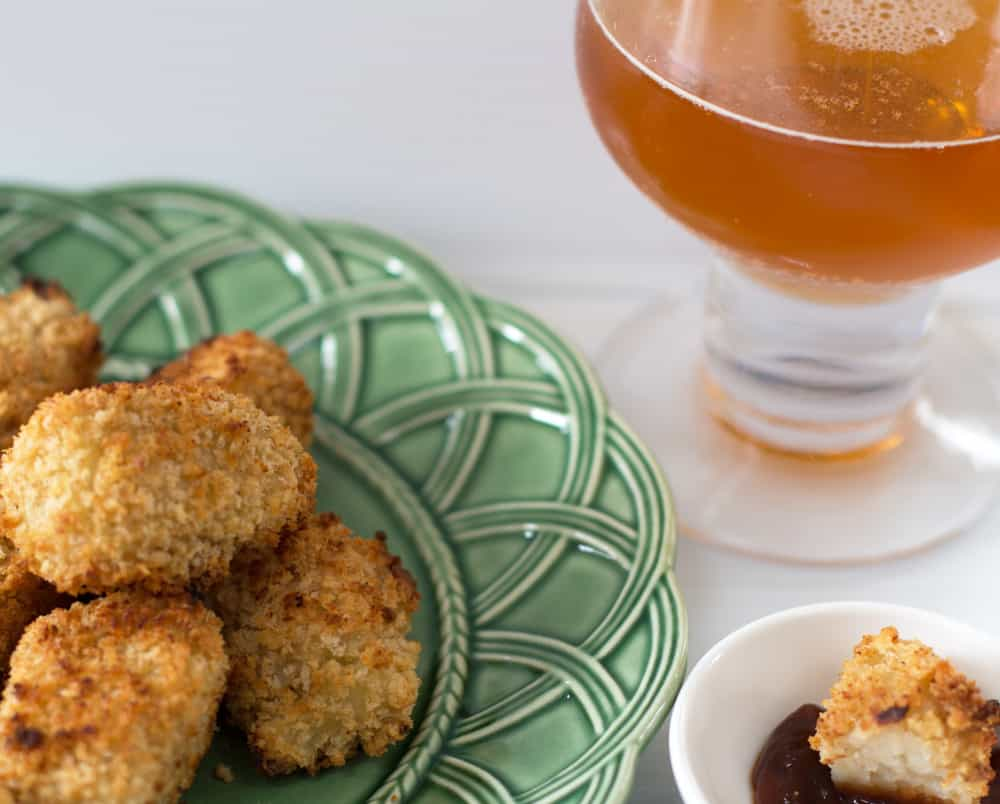 Beer-coated tater tots with ketchup. No better snack for a celebrating or just watching your favorite sport or show. | Mother Would Know