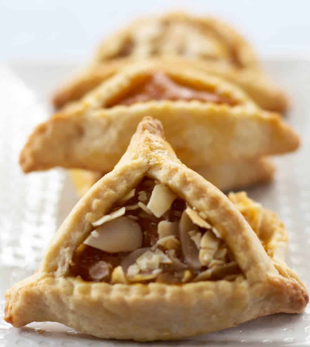Apricot hamantaschen are a delicious and fun treat to make for Purim, or anytime | Mother Would Know