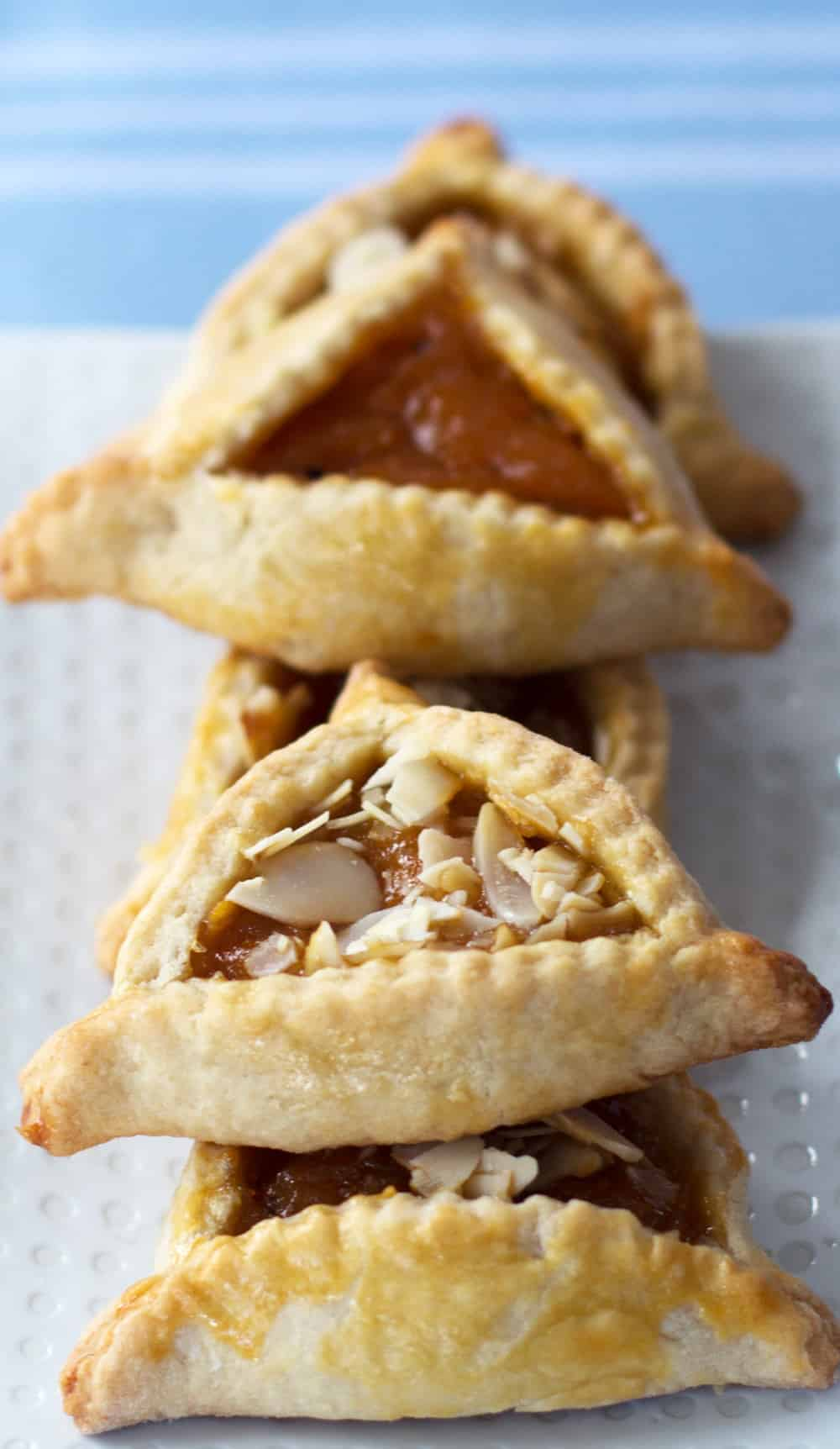 Apricot hamantaschen are a treat for Purim or anytime you want an easy ...