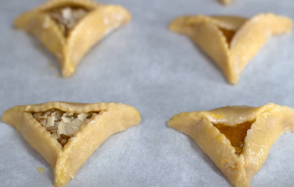 Apricot-Pistachio Triangles Recipe — Dishmaps