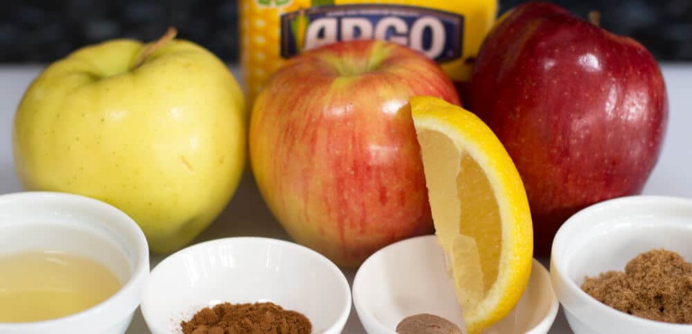 Filling Ingredients for apple pie hamantaschen | Mother Would Know