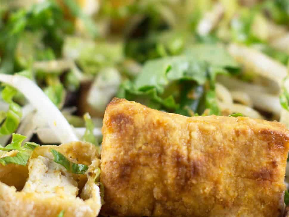 Crispy baked tofu, crunchy on the outside and pillowy soft on the inside. | Mother Would Know