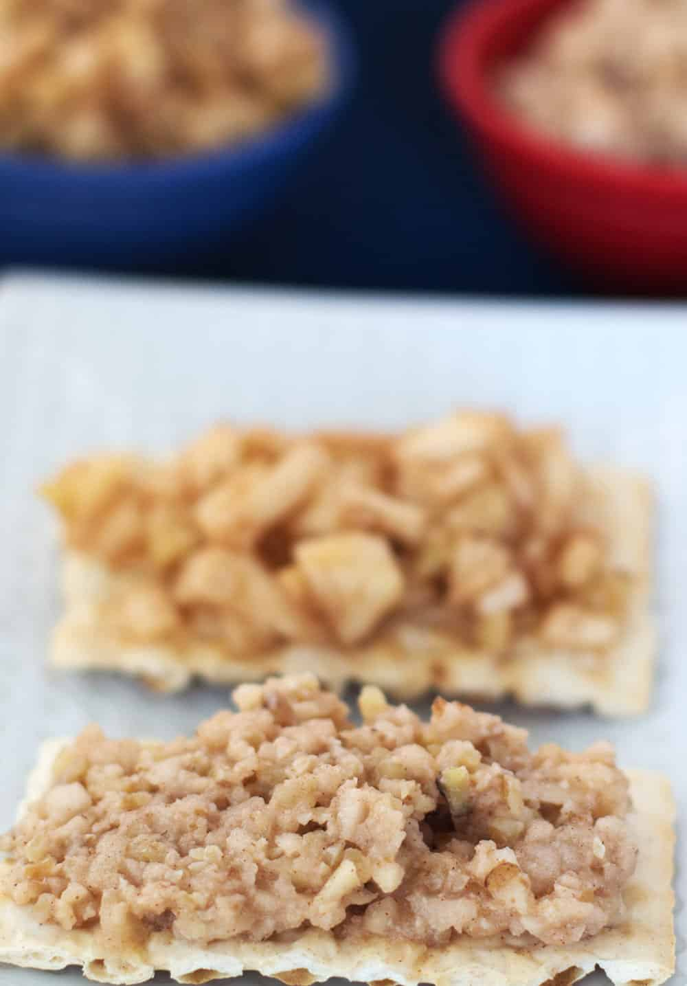Twist on Ashkenazic Charoset Adding candied walnuts takes apples ...