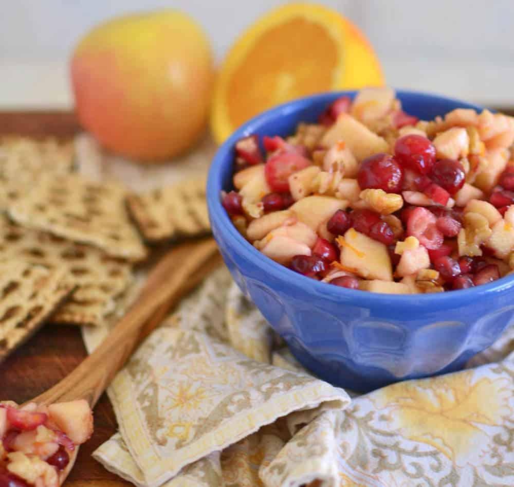 Sephardic Charoset with Pepper My Sephardic charoset, has lots of ...