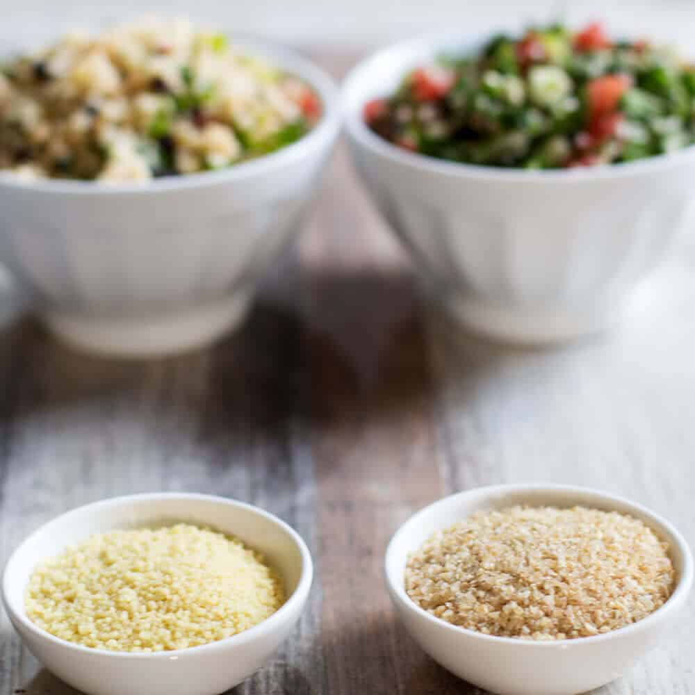 Now that you know the difference between bulgur and couscous, you know which salad is made from which grain, right?