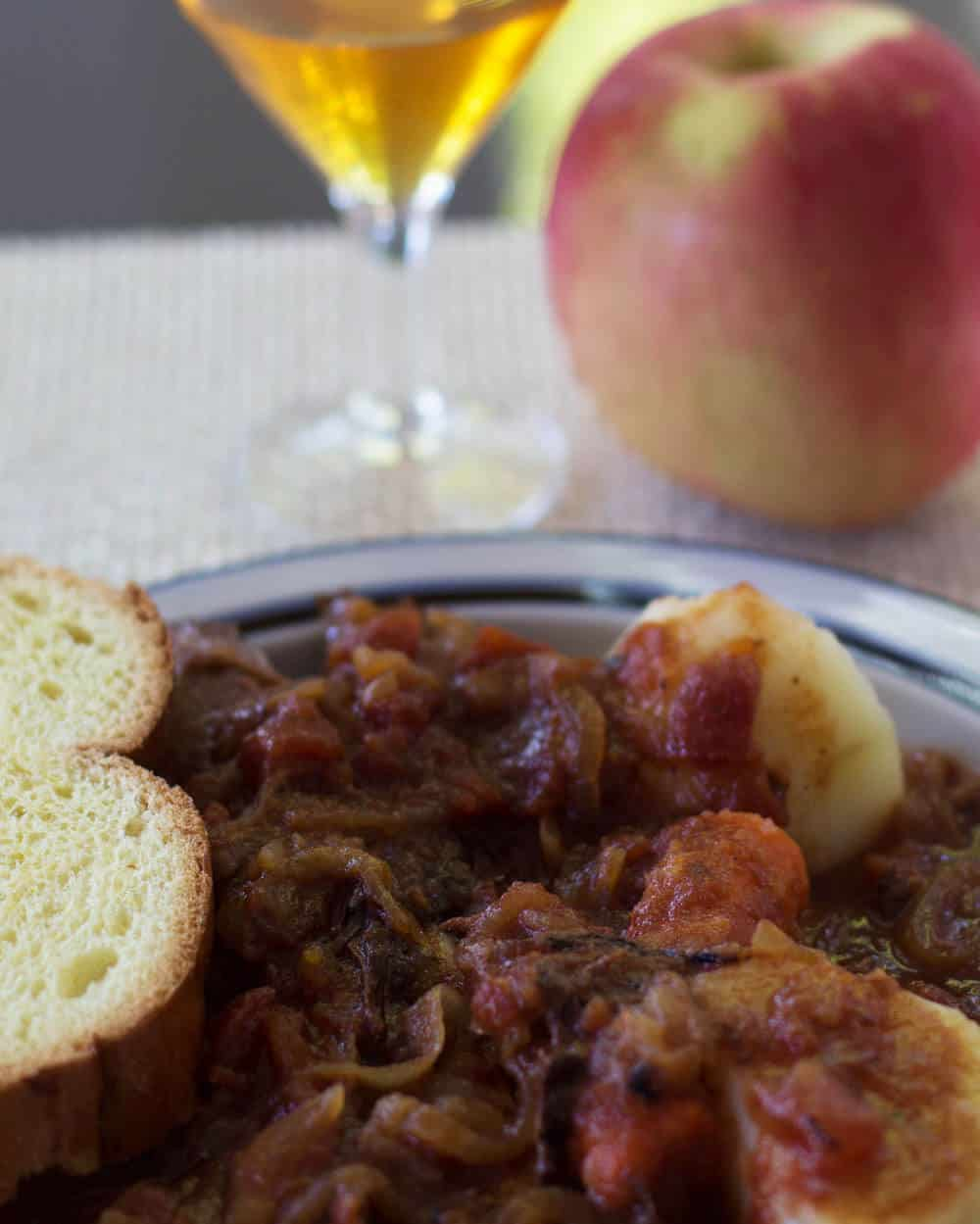 Jewish Style Sweet and Sour Brisket - perfect for Rosh Hashanah | Mother Would Know
