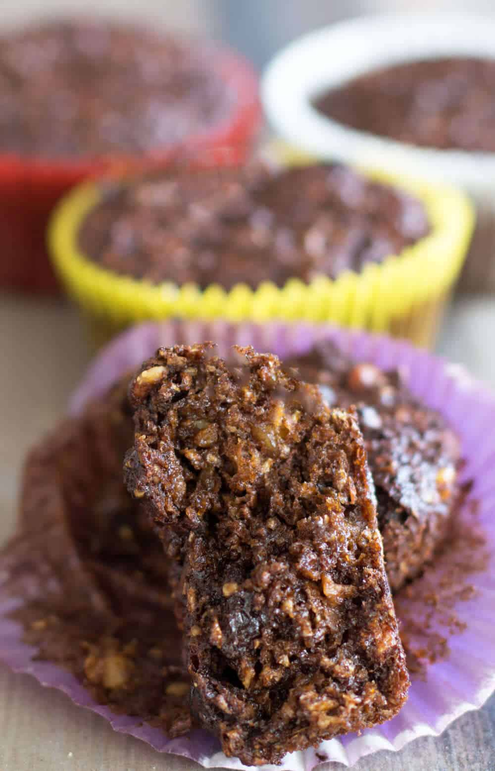 Morning glory bran muffins - a mash-up of two of myu favorite types of muffins. | Mother Would Know