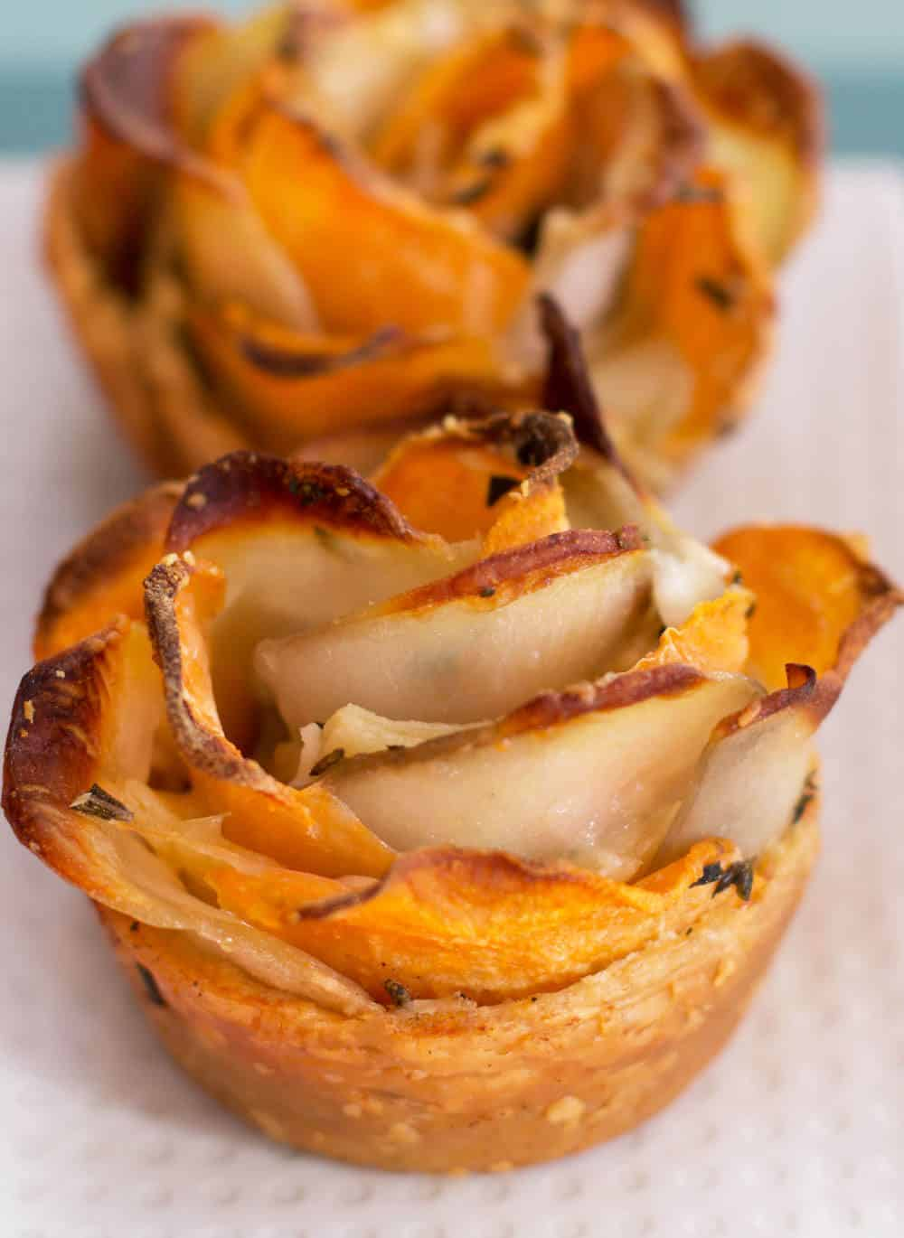 Puff Pastry Potato Roses - A beautiful side dish for any celebration. | Mother Would Know