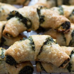 St. Patrick's Day Spinach and Feta Rugelach