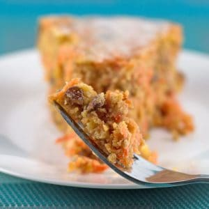 Non-Traditional Passover Carrot Cake