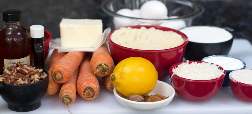Ingredients for Non-Traditional Passover Carrot Cake | Mother Would Know