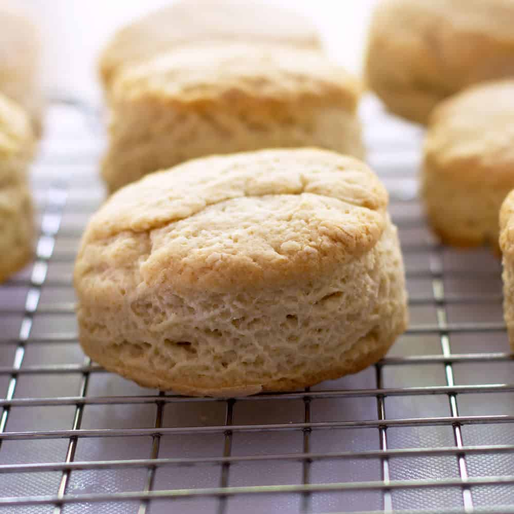 Grandma's Old Fashioned Biscuits hot out of the oven