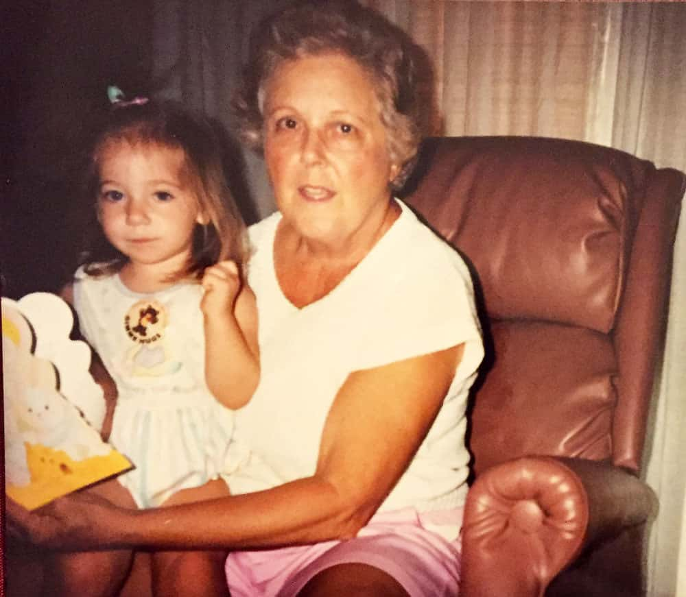 Collyn and her grandmother
