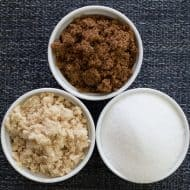 What is the Difference Between Granulated, Light Brown, and Dark Brown Sugar?