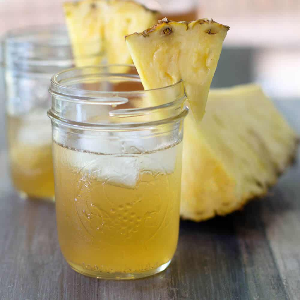 Spiced Pineapple Shrub, a perfect summer drink. | Mother Would Know