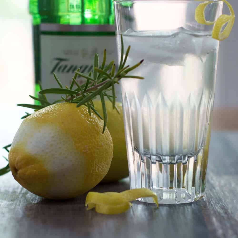 Lemon Rosemary Shrub | Mother Would Know