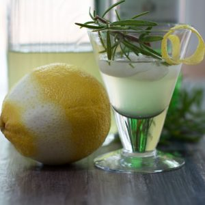 Lemon Rosemary Shrub