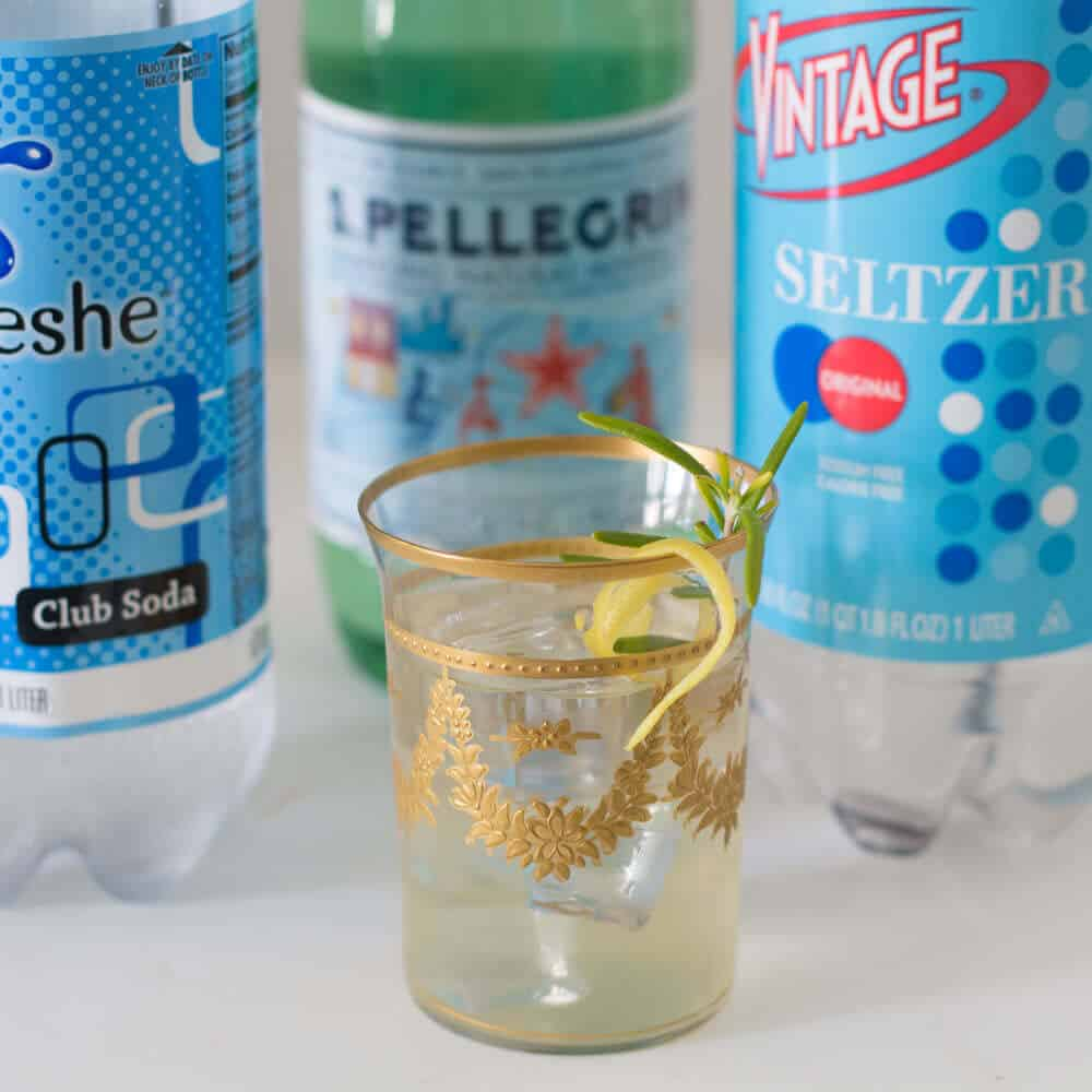 Club soda, seltzer, mineral water - find out the similarities and differences, from Mother Would Know.