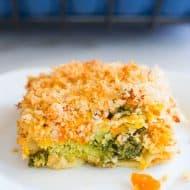 Savory Broccoli Carrot Kugel