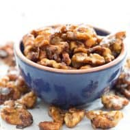 Stovetop Candied Walnuts in Under 10 Minutes