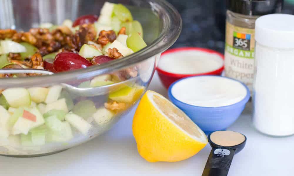 Lemon Jello Waldorf Salad Recipe