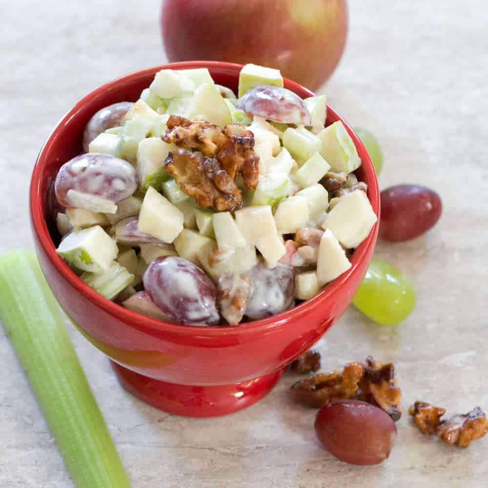 Retro Waldorf Salad, a classic featured on Mad Men. | Mother Would Know