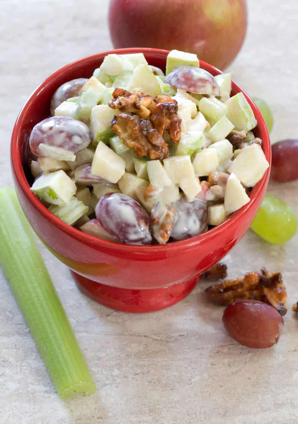Retro Waldorf Salad | Mother Would Know