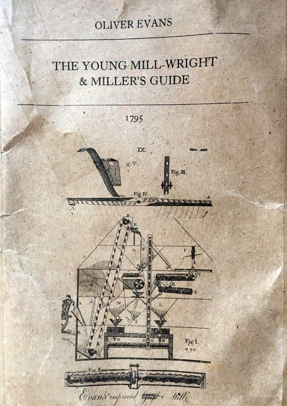 Oliver Evans' system for milling grain | Mother Would Know