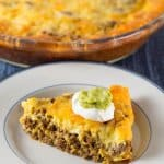Crustless Low Carb Taco Pie