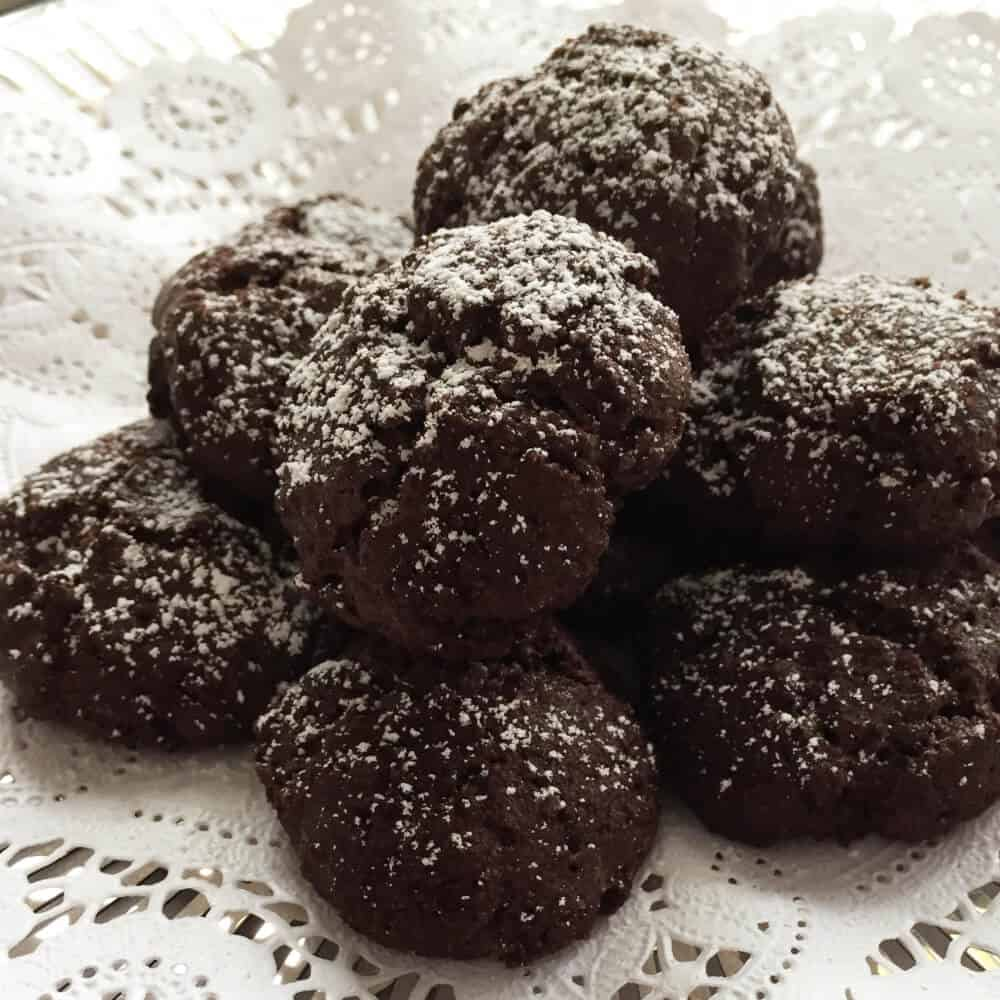 18th Century Crispy Intensely Chocolate Cookies | Mother Would Know