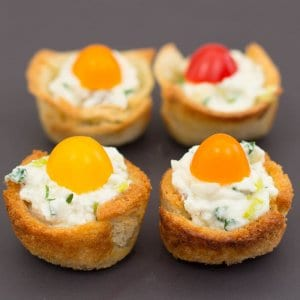Easy Mini Muffin Cup Appetizers