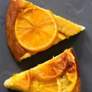 Cast Iron Orange Olive Oil Upside Down Cake