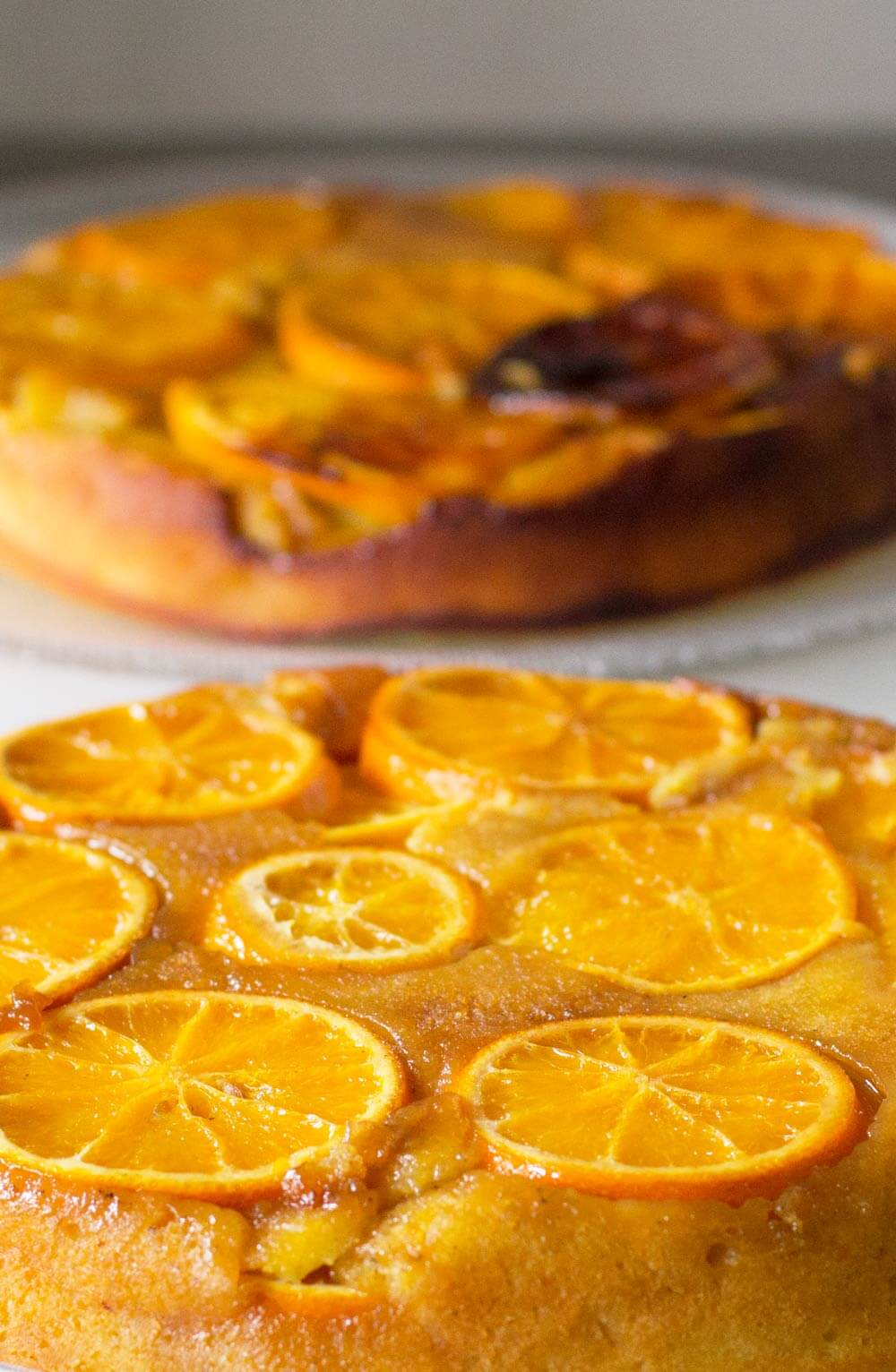 Cast Iron Orange Olive Oil Upside Down Cake