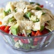 Make-Ahead Layered Southwestern Salad